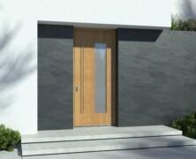 Vhodna vrata iz najrazličnejših vrst lesa