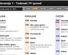 RTV spored je prisoten povsod