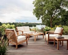 Vrtno pohištvo, paleta različnih možnosti