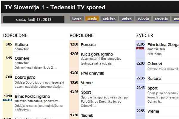 Tv Spored
