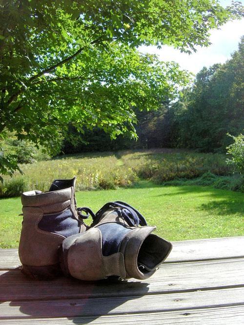 pohodniški čevlji